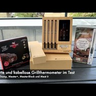 Smarte Grill-Thermometer im Test: Meater+, Meater-Block, Meat-it und Steak-Champ